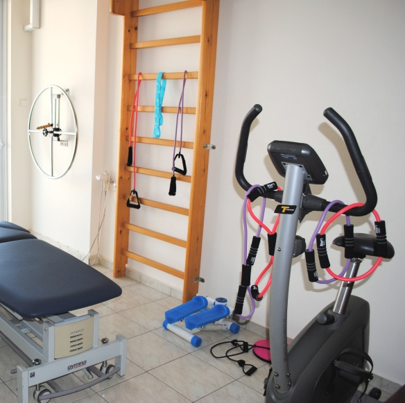Άποψη χώρου Γυμναστικής και Κινησιοθεραπείας