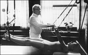 """I must be right. Never an aspirin. Never injured a day in my life. The whole country, the whole world, should be doing my exercises. They'd be happier.""  Joseph Pilates, in 1965, age 86."